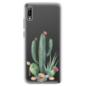 Plastové pouzdro iSaprio Kaktusy 02 na mobil Huawei Y6 2019