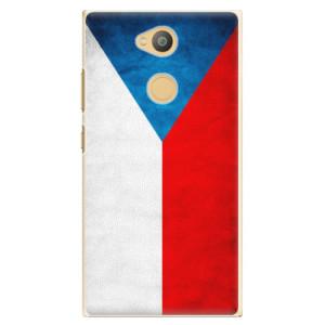 Plastové pouzdro iSaprio Česká Vlajka na mobil Sony Xperia L2