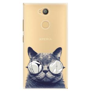 Plastové pouzdro iSaprio Šílená Číča 01 na mobil Sony Xperia L2