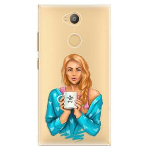 Plastové pouzdro iSaprio Coffee Now Zrzka na mobil Sony Xperia L2