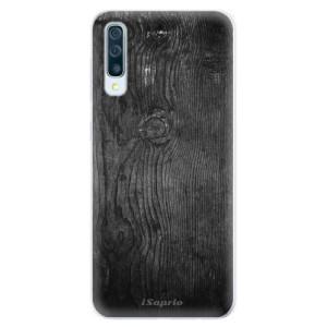 Silikonové pouzdro iSaprio (mléčně zakalené) Black Wood 13 na mobil Samsung Galaxy A50 / A30s