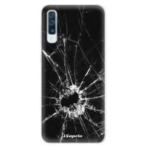 Silikonové pouzdro iSaprio (mléčně zakalené) Broken Glass 10 na mobil Samsung Galaxy A50 / A30s