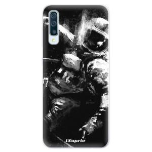 Silikonové pouzdro iSaprio (mléčně zakalené) Astronaut 02 na mobil Samsung Galaxy A50 / A30s