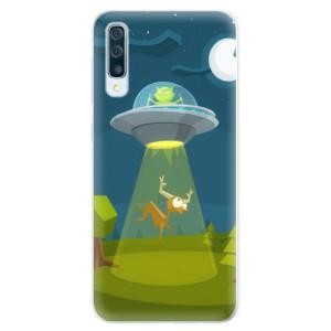 Silikonové pouzdro iSaprio (mléčně zakalené) Ufouni 01 na mobil Samsung Galaxy A50 / A30s