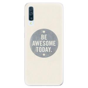Silikonové pouzdro iSaprio (mléčně zakalené) Awesome 02 na mobil Samsung Galaxy A50 / A30s