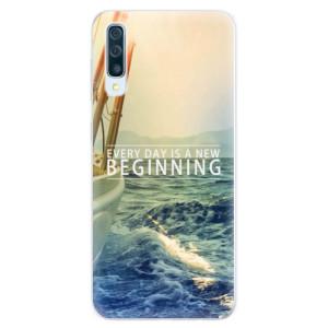 Silikonové pouzdro iSaprio (mléčně zakalené) Beginning na mobil Samsung Galaxy A50 / A30s