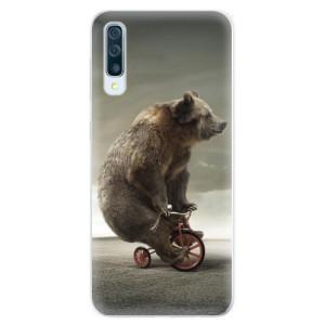 Silikonové pouzdro iSaprio (mléčně zakalené) Medvěd 01 na mobil Samsung Galaxy A50 / A30s