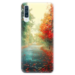 Silikonové pouzdro iSaprio (mléčně zakalené) Podzim 03 na mobil Samsung Galaxy A50 / A30s