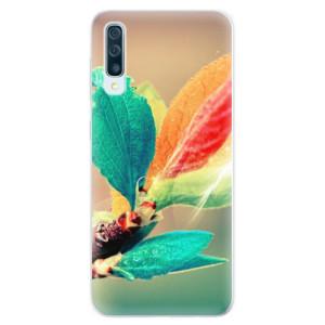 Silikonové pouzdro iSaprio (mléčně zakalené) Podzim 02 na mobil Samsung Galaxy A50 / A30s
