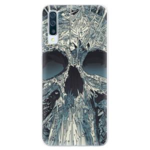 Silikonové pouzdro iSaprio (mléčně zakalené) Abstract Skull na mobil Samsung Galaxy A50 / A30s