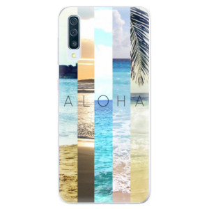 Silikonové pouzdro iSaprio (mléčně zakalené) Aloha 02 na mobil Samsung Galaxy A50 / A30s