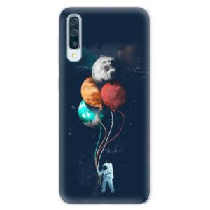 Silikonové pouzdro iSaprio (mléčně zakalené) Balónky 02 na mobil Samsung Galaxy A50 / A30s