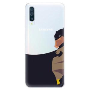 Silikonové pouzdro iSaprio (mléčně zakalené) BaT Komiks na mobil Samsung Galaxy A50 / A30s