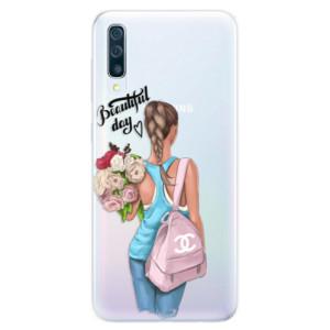 Silikonové pouzdro iSaprio (mléčně zakalené) Beautiful Day na mobil Samsung Galaxy A50 / A30s