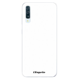 Silikonové pouzdro iSaprio 4Pure bílé na mobil Samsung Galaxy A50 / A30s