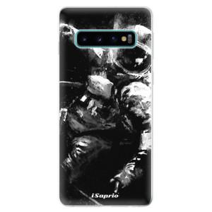 Silikonové odolné pouzdro iSaprio Astronaut 02 na mobil Samsung Galaxy S10