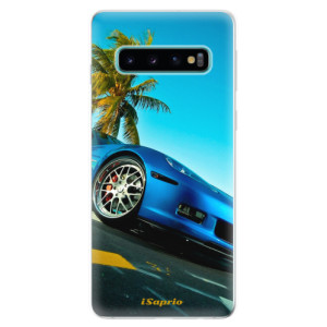 Silikonové odolné pouzdro iSaprio Kára 10 na mobil Samsung Galaxy S10