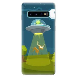 Silikonové odolné pouzdro iSaprio Ufouni 01 na mobil Samsung Galaxy S10