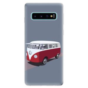 Silikonové odolné pouzdro iSaprio VW Bus na mobil Samsung Galaxy S10