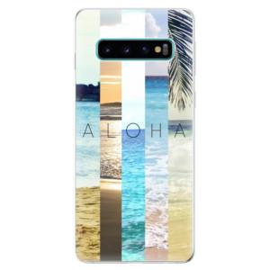 Silikonové odolné pouzdro iSaprio Aloha 02 na mobil Samsung Galaxy S10