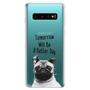 Silikonové odolné pouzdro iSaprio Better Day 01 na mobil Samsung Galaxy S10