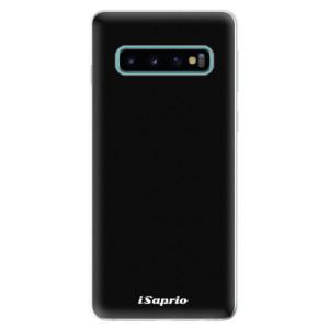 Silikonové odolné pouzdro iSaprio 4Pure černé na mobil Samsung Galaxy S10