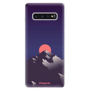 Silikonové odolné pouzdro iSaprio Hora a Měsíc 04 na mobil Samsung Galaxy S10 Plus