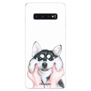Silikonové odolné pouzdro iSaprio Malamut 01 na mobil Samsung Galaxy S10 Plus
