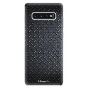 Silikonové odolné pouzdro iSaprio Kov 01 na mobil Samsung Galaxy S10 Plus