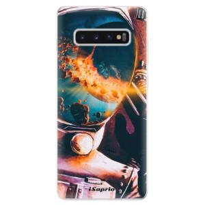 Silikonové odolné pouzdro iSaprio Astronaut 01 na mobil Samsung Galaxy S10 Plus