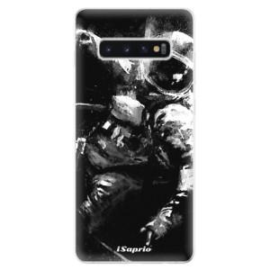 Silikonové odolné pouzdro iSaprio Astronaut 02 na mobil Samsung Galaxy S10 Plus