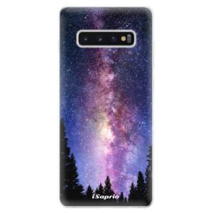 Silikonové odolné pouzdro iSaprio Mléčná Dráha 11 na mobil Samsung Galaxy S10 Plus