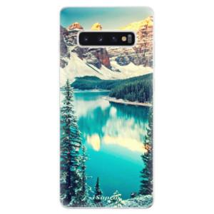 Silikonové odolné pouzdro iSaprio V Horách 10 na mobil Samsung Galaxy S10 Plus