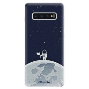 Silikonové odolné pouzdro iSaprio Na Měsíci 10 na mobil Samsung Galaxy S10 Plus