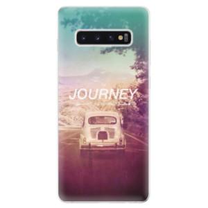 Silikonové odolné pouzdro iSaprio Journey na mobil Samsung Galaxy S10 Plus