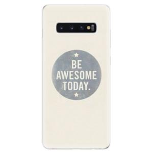 Silikonové odolné pouzdro iSaprio Awesome 02 na mobil Samsung Galaxy S10 Plus