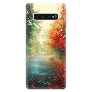 Silikonové odolné pouzdro iSaprio Podzim 03 na mobil Samsung Galaxy S10 Plus