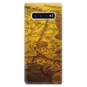 Silikonové odolné pouzdro iSaprio Stará Mapa na mobil Samsung Galaxy S10 Plus