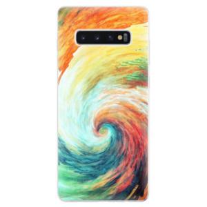 Silikonové odolné pouzdro iSaprio Modern Art 01 na mobil Samsung Galaxy S10 Plus
