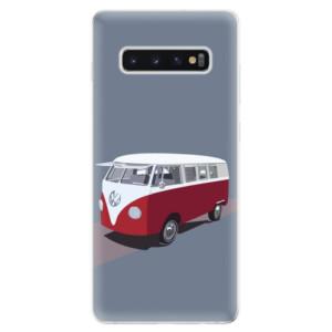 Silikonové odolné pouzdro iSaprio VW Bus na mobil Samsung Galaxy S10 Plus