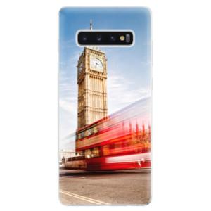 Silikonové odolné pouzdro iSaprio Londýn 01 na mobil Samsung Galaxy S10 Plus