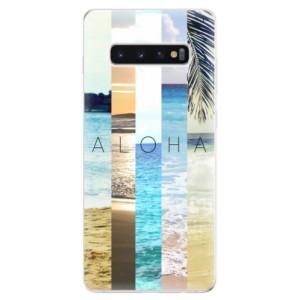 Silikonové odolné pouzdro iSaprio Aloha 02 na mobil Samsung Galaxy S10 Plus