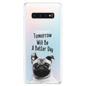 Silikonové odolné pouzdro iSaprio Better Day 01 na mobil Samsung Galaxy S10 Plus