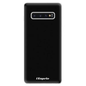 Silikonové odolné pouzdro iSaprio 4Pure černé na mobil Samsung Galaxy S10 Plus