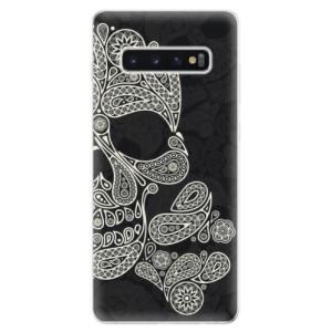 Silikonové odolné pouzdro iSaprio Lebka Mayů na mobil Samsung Galaxy S10 Plus