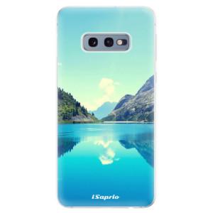 Silikonové odolné pouzdro iSaprio Jezero 01 na mobil Samsung Galaxy S10e