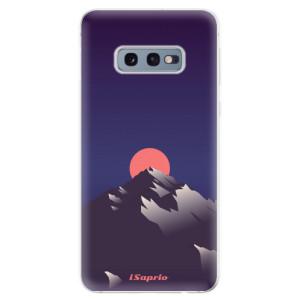 Silikonové odolné pouzdro iSaprio Hora a Měsíc 04 na mobil Samsung Galaxy S10e