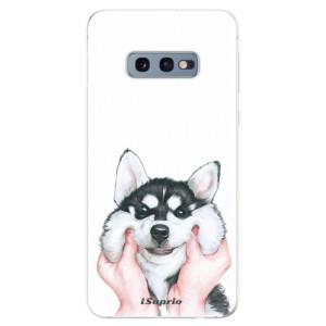 Silikonové odolné pouzdro iSaprio Malamut 01 na mobil Samsung Galaxy S10e