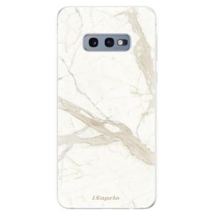 Silikonové odolné pouzdro iSaprio Béžový Mramor 12 na mobil Samsung Galaxy S10e