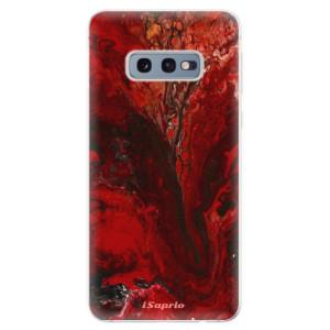 Silikonové odolné pouzdro iSaprio RedMarble 17 na mobil Samsung Galaxy S10e - poslední kus za tuto cenu